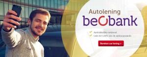 Beobank autolening voor nieuwe auto's en occasie